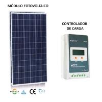 Gerador Solar 96 Kwh/Mês para Uso Isolado (Off-Grid)