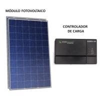 Gerador Solar 79 Kwh/Mês para Uso Isolado (Off-Grid)