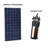 Kit Bomba Solar 360 a 438 L/Dia até 70mca SUN21 BSD-7024 para Poço